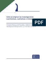 como se originan las investigaciones cuali, cuanti y mixtas.pdf