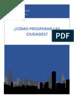 ¿Cómo prosperan la ciudades?