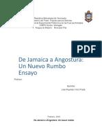 Ensayo JA Carta de Jamaica