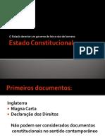Estado Constitucional e Constituicao de 1988