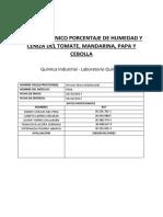 Informe Técnico Humedad y Cenizas