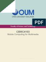 CBMC4104 Mobile Computing for Multimedia