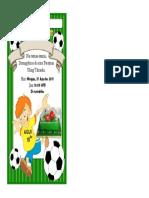 Contohsuratindonesia.com - Contoh Undangan Ulang Tahun Anak Laki-laki Tema Sepak Bola