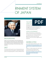 government system of japan
