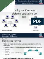 Configuración de un sistema operativo de red