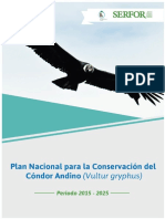 Plan Nacional Conversacion Condor Andino
