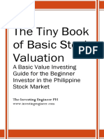 The Tiny Book on Basic Stock Valuation