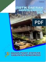Statistik Daerah Kabupaten Bondowoso 2015