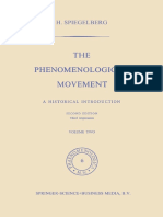 Herbert Spiegelberg the Phenomenological Movement 2