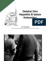 Deteksi Dini HepatitisB Dalam Kehamilan