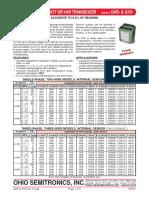 OSI GW5 GV5 Precision AC Watt or VAR Transducer