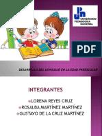 desarrollo del lenguaje en educacion preescolar.ppt