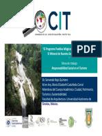 Ponencia Tijuana- Pueblos Magicos y Sustentabilidad- El Mineral de Ntra Señora