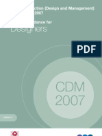 CDM Industry Guidelines for Designers 2007