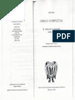 Jose Gaos Obras Completas III. Ideas de La Filosofia (1938-1950)