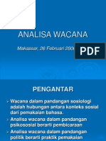 ANALISA WACANA