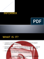 Informatic's Security