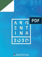 2017 . Argentina 2030.Educacion y Trabajo - Diagnostico 1