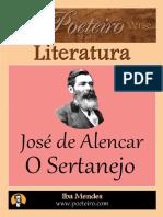 Jose de Alencar - o Sertanejo