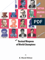 Tactical Weapons of World Champions - K. Murali Mohan