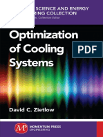 Optimization of Cooling Systems (2016)