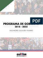 Programa Gobierno Alejandro Guillier - V8