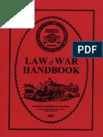 Law War Handbook 2005