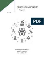 Grupos funcionales química orgánica