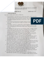 PNG Immigration letter to Manus Regional Processing Residents #01