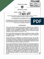 Presidente Santos aceptó renuncia de Manolo Duque a la Alcaldía de Cartagena