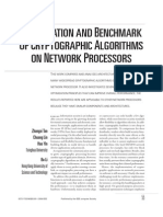 Optimization and Benchmark of Cryptographic Algorithms
