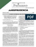 Pleno Penal Suprema Cinco Acuerdos Plenarios