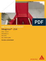 Sikagrout- 214