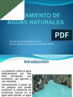 Tratamiento de Aguas Naturales