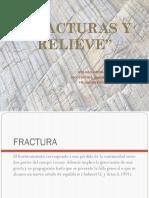 Fracturas y Relieve