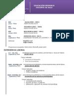 Curriculum LILIANA