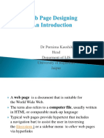 4-11-2017 Lect I Web Page Designing (refersher course).pptx