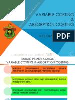3 Absorption Costing Dan Variabel Costing