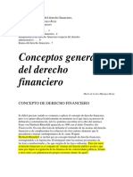 Conceptos Generales Del Derecho Financiero Ok