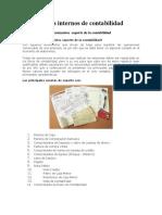 Documentos Internos de Contabilidad