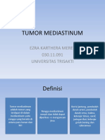 Tumor Mediastinum Radiologi Rsal