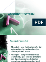 ADSORPSI ISOTERM-pertemuan 4.ppt