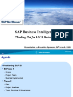 SAP BI Executive Ppt