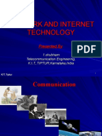 Network and Internet Technology.