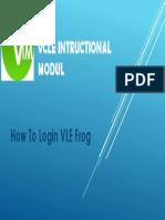 how to login vle frog.pptx