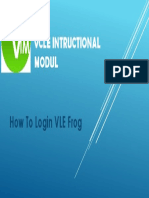 how to login vle frog.pptx