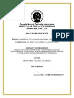 Modelo de Tutoría Entre Pares Para Potencializar Las Capacidades de Los Alumnos de Alto Desempeño y Para Auxiliar a Los Alumnos Que Requieran Apoyo Académico