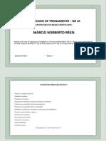 Certificado de Treinamento – NR 10.pptx