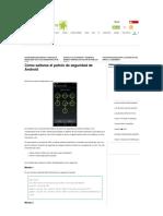 Cómo saltarse el patrón de seguridad de Android - El Androide Libre.pdf