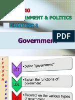 Chapter 1 - Govt